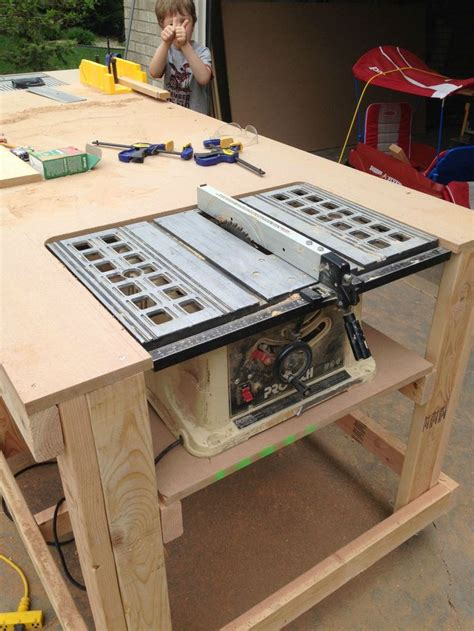 how to build a work table 1000 ideas about table saw on router table