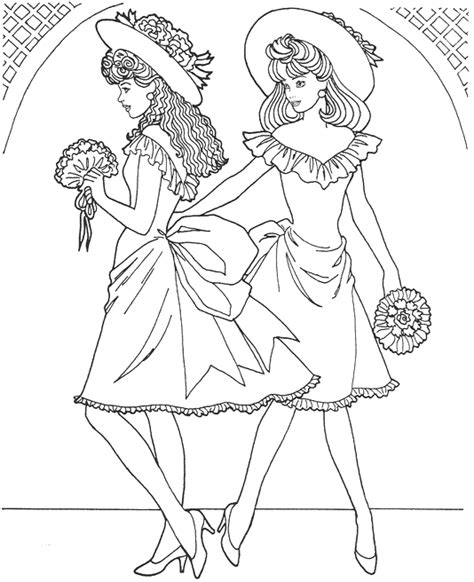 top model coloring pages    print