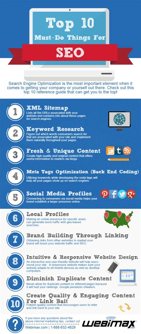 Top 10 Search Engine Optimization by Top 10 Must Do Things For Seo