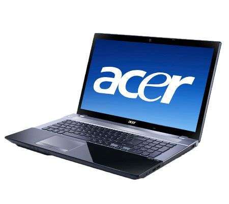 Laptop Acer Intel I3 3 Jutaan acer aspire 17 3 quot notebook intel i3 6gb ram 500gb hd page 1 qvc