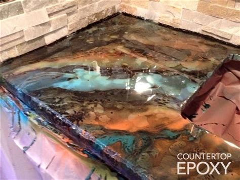 clear bar top epoxy top 25 best epoxy countertop ideas on pinterest bar top