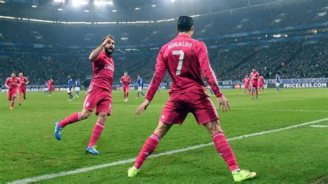 Calendrier Huitieme De Finale Ligue Des Chions 2014 En Direct Live Schalke 04 Real Madrid Ligue Des