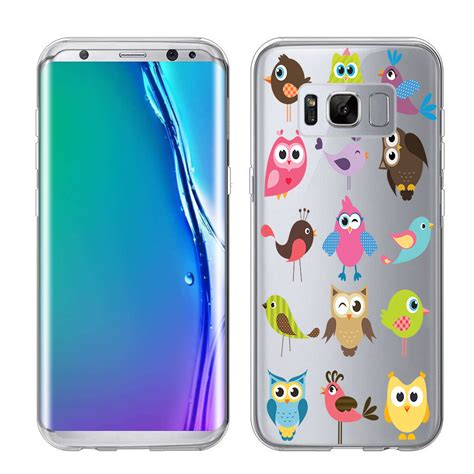 Softcase Flower List Samsung Galaxy S8 Plus Ring Stand for galaxy s8 quot edge quot quot plus quot version g955 2017 design clear tpu soft ebay