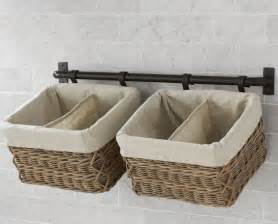 Wall Mounted Storage Baskets Bathroom Storage Ideas Baskets Images