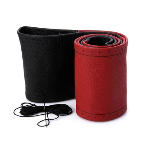 copri volante volante risparmiatore copri volante vera pelle nero rosso