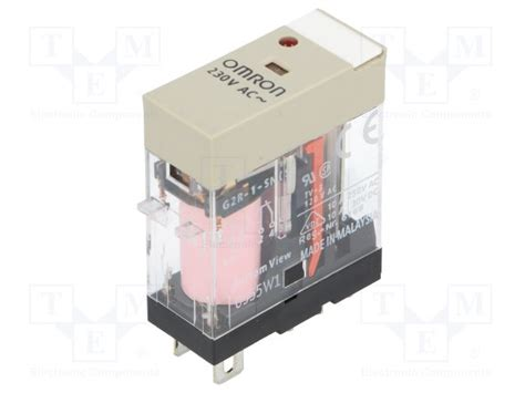 Omron G2r Relay g2r 1 sn 230vac s omron relay electromagnetic tme