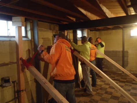 basement wall repairs drainage wisconsin milwaukee