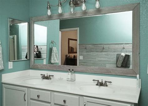 25 best ideas about framed frame for bathroom mirror home design ideas and pictures