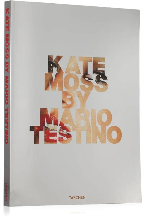 libro kate moss by mario mario testino products and book on