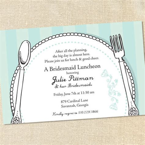 lunch invitation template sweet wishes 15 bridal shower brunch luncheon invitations