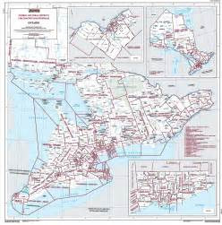 map of ontario and canada map of ontario elections canada