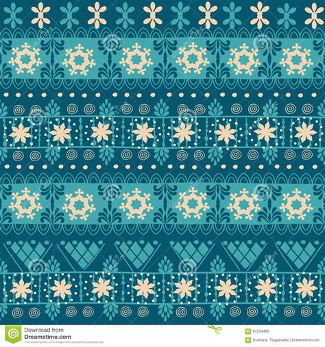 tribal christmas tribal seamless pattern stock vector image 61234460