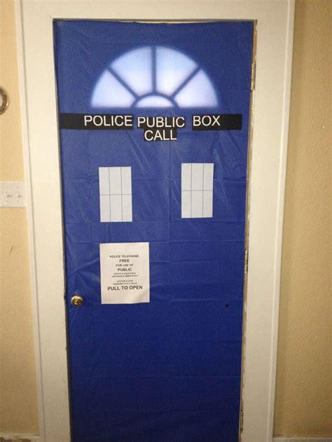 Tardis Front Door Dr Who Party Blue Plastic Table Cloth Tardis Blue Front Door