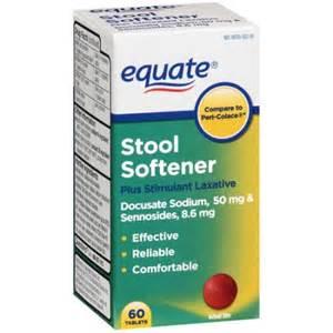 equate stool softener plus stimulant laxative tablets