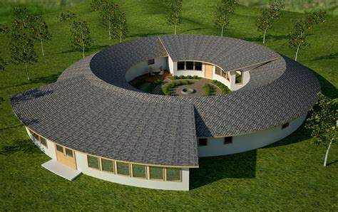 round home design plans roundhouse earthbag house plans