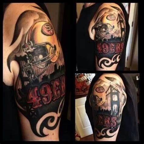 49ers tattoos designs 49ers whoa ink me san