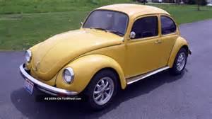 1972 volkswagen beetle base 1 6l