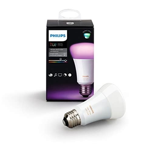 philips a19 dimmable led l philips hue white and color ambiance a19 60w equivalent