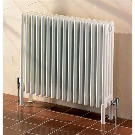 home radiators aestus partito 4 column radiator 600 h mm uk bathrooms