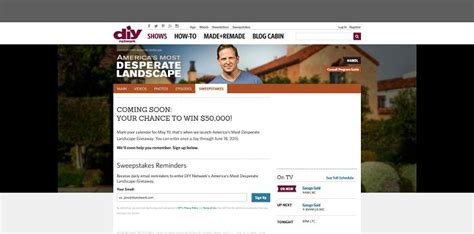 Diy Desperate Landscape Sweepstakes - diynetwork com amdlgiveaway america s most desperate landscape giveaway