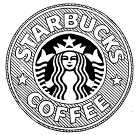 printable starbucks logo starbucks cup logo coloring pictures to pin on pinterest