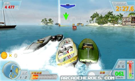 boats game power boat arcade heroes