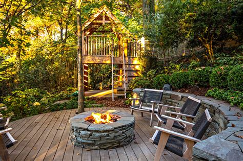 rustic backyard 15 amazing rustic deck designs that will enhance your