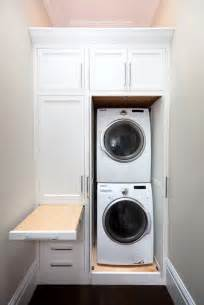 closet laundry storage ideas
