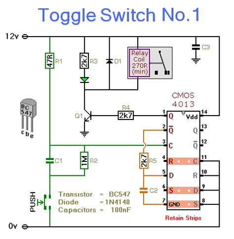 Toggle Switch Number 1