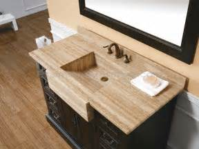 Bath Vanities With Tops Where Looks Combine With Utility Bathroom Vanities With