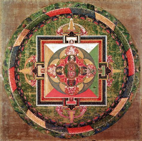 asian inspired home decor from nepal buddhist mandala thangka how to make japanese mandalas ehow uk