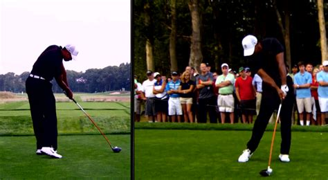 tiger woods swing speed tiger woods golf swing under sean foley enlightening golf
