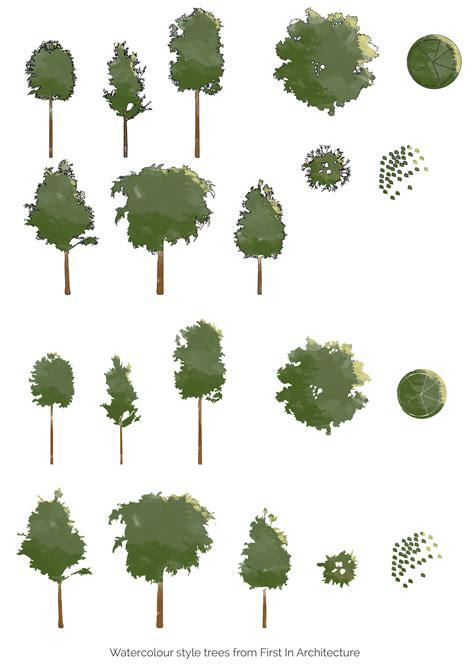 color trees colour trees free psd no 2 arquitectura