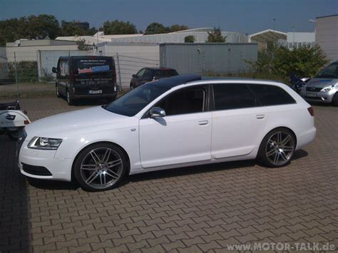 Audi A6 Wei by Img 0165 Audi A6 Avant In Weiss Eingepackt Audi A6 4f