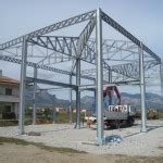 struttura in ferro per capannone usata struttureinacciaio net metaltecnica srl