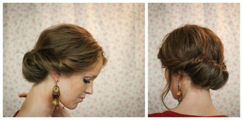 tuck in hairstyles the freckled fox hair tutorial the gibson tuck