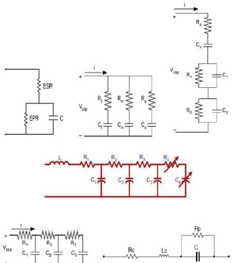 series capacitor model electrical equivalent models of a supercapacitor a rc series