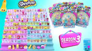 Shopkins season 3 unboxing 12 packs special edition polished pearl