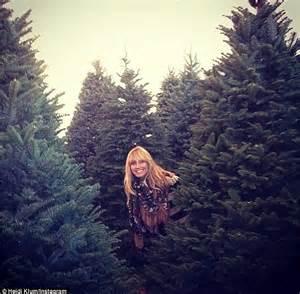 heidi klum explains why she purchased six christmas trees