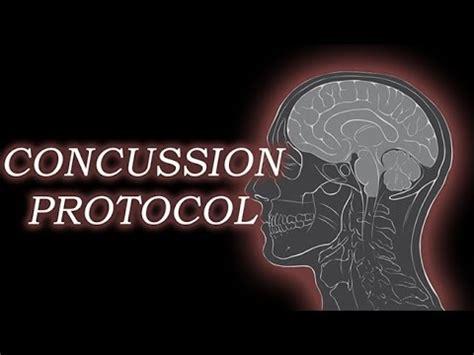 concussion protocol youtube