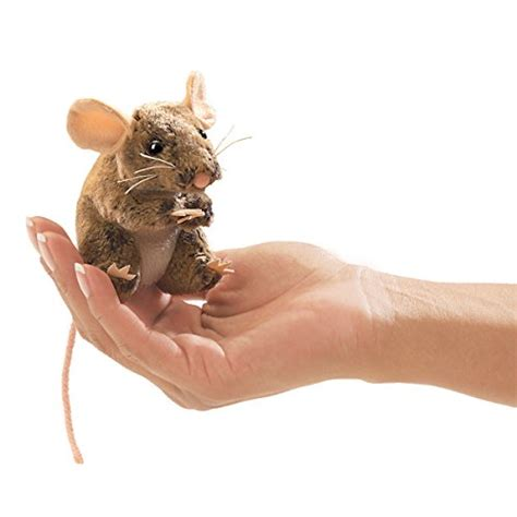 Mouse Finger Folkmanis Mini Field Mouse Finger Puppet Fitness Tracker Fitness Activity Monitors On Sale