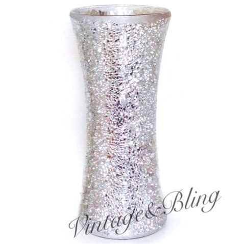 Cracked Mirror Vase by 8 Best Mosaic