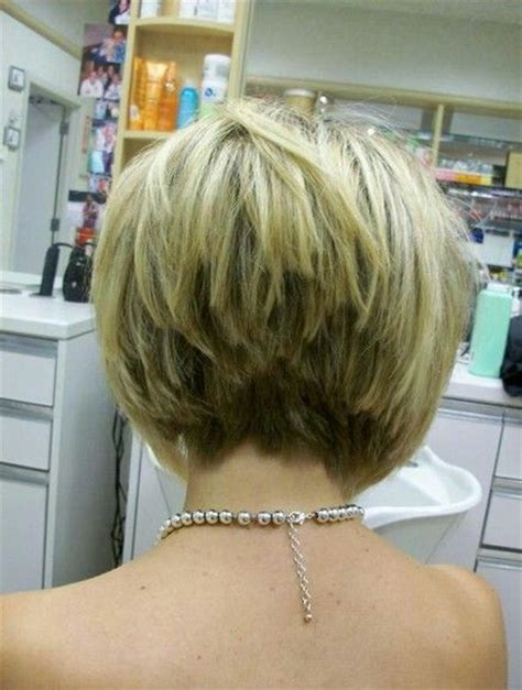 what does short choppy layers look like in medium length hair short bob haircut with angled choppy look in back