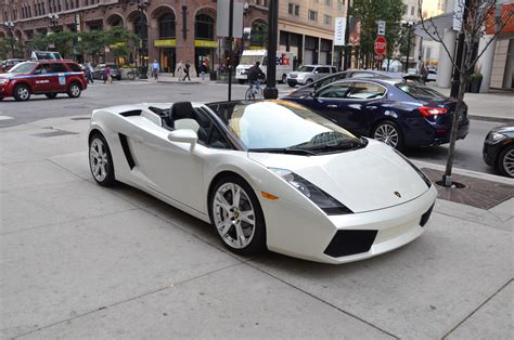 2008 lamborghini gallardo spyder spyder stock b619aa for sale near chicago il il