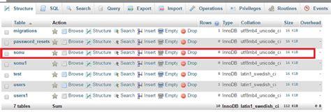 laravel tutorial migration laravel create table using migration migration function