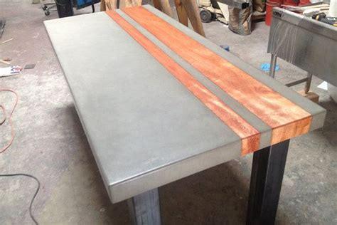 handgefertigte esszimmer tische handgefertigt aus beton holz und stahl das esszimmer
