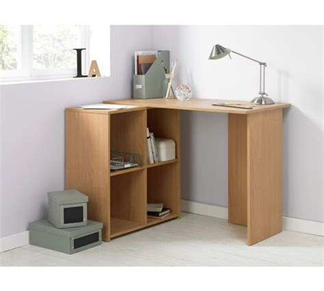 Oak Effect Corner Desk Buy Home Calgary Corner Desk Oak Effect At Argos Co Uk Your Shop For Desks And