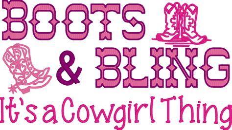 boots and bling comical embroidered shirt boots bling it s a