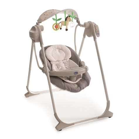 chicco polly swing up chicco baby swing polly swing up 2015 grey buy at