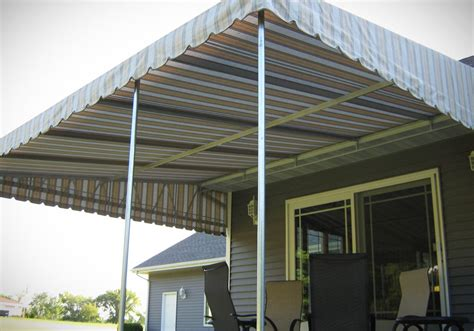 Patio Deck Canopy by Door Canopy